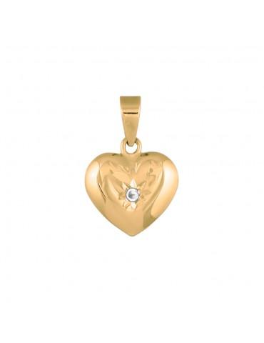 Nordahl guld hjerte med...
