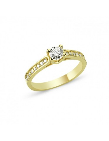 Nuran ring - Bella 0,43ct