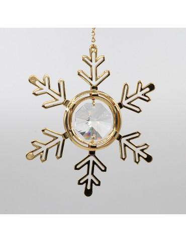 Julepynt med krystaller -...