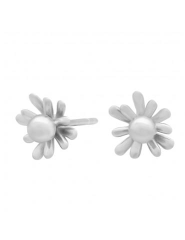 Nordahl sølvørestik - blomst