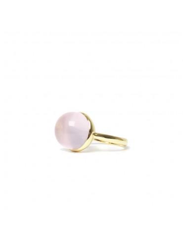 Rosequartz Romance ring