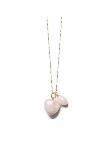 Rosequartz Love halskæde