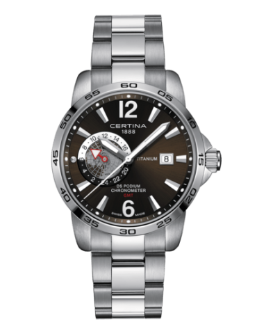 Certina GMT Ds Podium ur -...