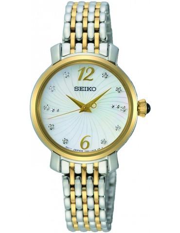 Seiko ur med mix lænke