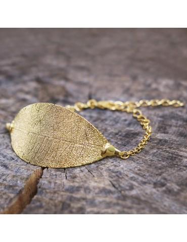 PureLeaf - armbånd -CAJU gold