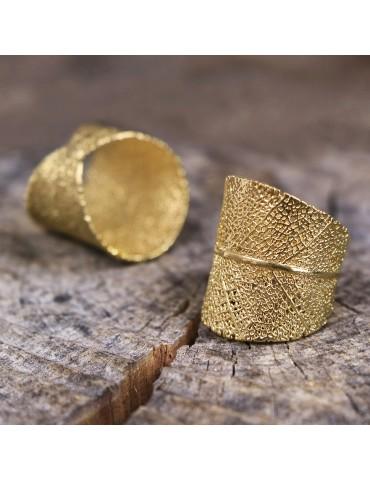 PureLeaf - ring -MAIA gold