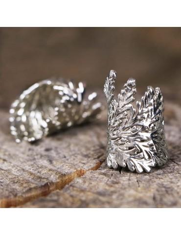 PureLeaf - ring -ELVA white...