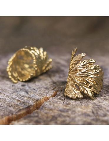 PureLeaf - ring -Elva gold