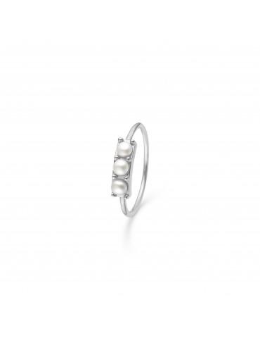 Studio Z - sølv ring med 3...