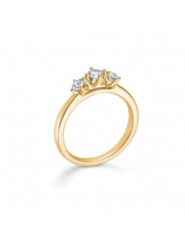 Mads Z. Crown Trinity ring